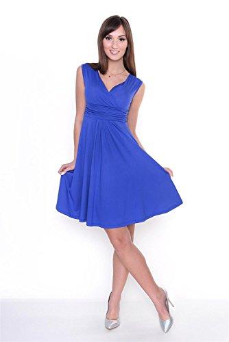 AE - Robe spécial grossesse - Sans Manche - Femme Bleu - Bleu