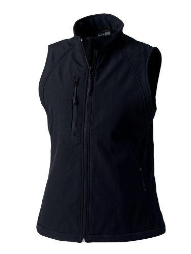 Jerzees - Manteau sans manche - Sans manche - Femme Noir - Noir
