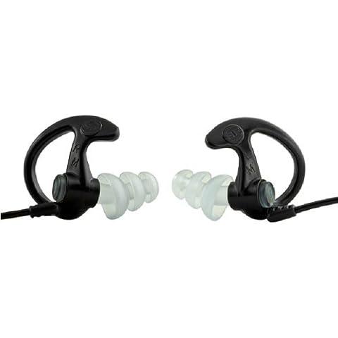 Ear Pro By Surefire 5 Sonic Defender Ear Plugs (1-Pair) Black, Medium Color: Black Size: Medium, Ferramenta - Pro Tools Noise Reduction