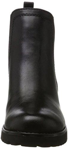 Marco Tozzi 25414, Stivali Chelsea Donna Nero (Black Antic)