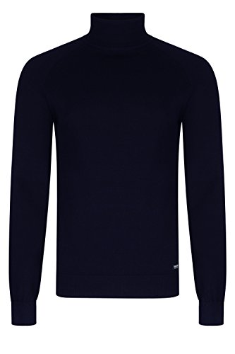 Threadbare Herren Logan Rollkragen Pullover Rich Navy - Blue