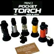 Briquet prince pocket torch pb207 (transparent)