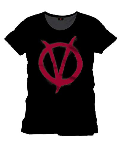 Horror-Shop Vendetta T-Shirt mit Logo ()