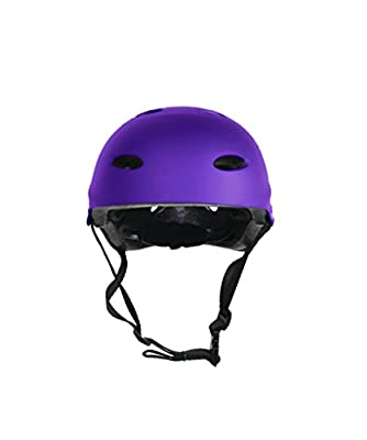 Kids / Childs / Childrens Urban Skate Helmet Ideal For Skateboard Bike BMX and Stunt Scooter Black Pink Green Blue Age Guide 3 - 8 years Boys / Girls from La Sports
