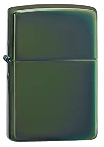 Zippo 28129 Lighter, Metal, Green, One Size