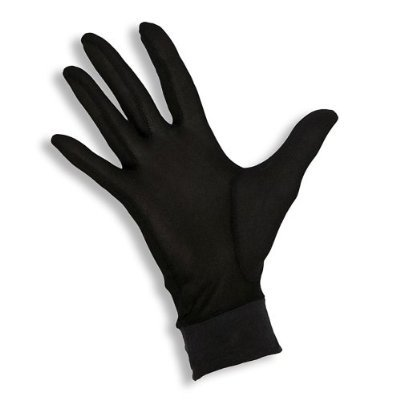 Jasmine Silk Pure Silk Gloves Thermal Liner Glove Inner Ski Bike Cycle Gloves (Small) 100gsm