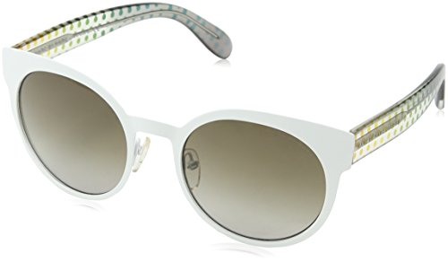 Marc by Marc Jacobs Sonnenbrille Mmj 413/S Ha White Crystal Grey, 53