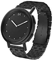 MISFIT Path Smartwatch Jet Black-Tone Stainless Steel MIS5030