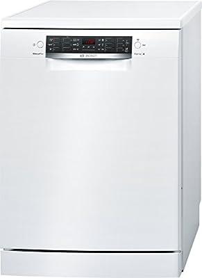Bosch Serie 4 SMS46CW01E Independiente 13cubiertos A+++ lavavajilla - Lavavajillas (Independiente, Blanco, Tamaño completo (60 cm), Negro, Blanco, Botones, Frío, Caliente)