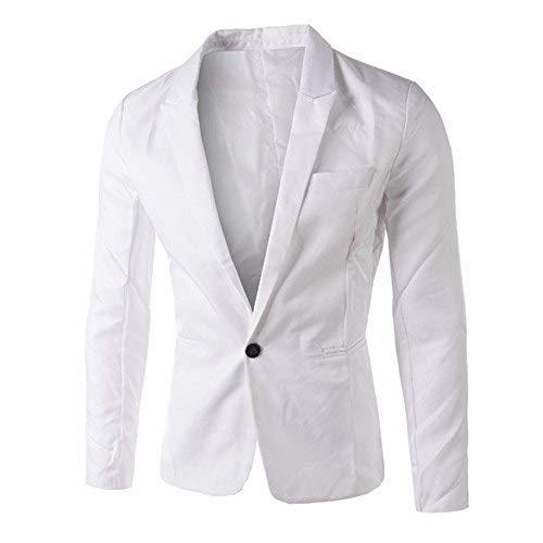 Beikoard Herren Blazer Casual Slim Fit One Button Anzug Blazer Mantel Jacke Mantel Männer Mode Regular Fit Anzug klassisch Beiläufiger Sakko Anzugjacken