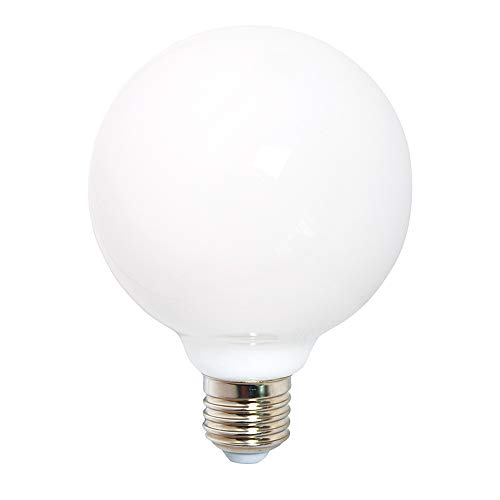 LED Filament Leuchtmittel 360° opal matt warmweiß 2700K - Globe G80 E27 6W = 60W - Sammlung Sitz