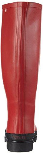Sanita - Fanny Welly, Stivali di gomma Donna Rosso (Rot (Red 4))