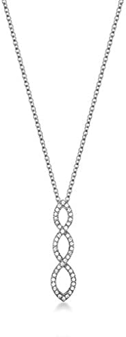 Mestige Women Glass Harmony Necklace with Swarovski Crystals
