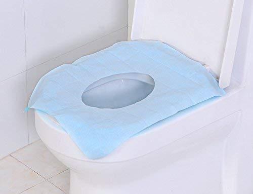 50 sacchetti usa e getta da viaggio anti-microbici confezionati singolarmente.