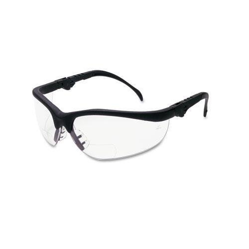 crews-k3h20-klondike-magnifier-20-diopter-safety-glasses-with-black-nylon-frame-and-clear-polycarbon