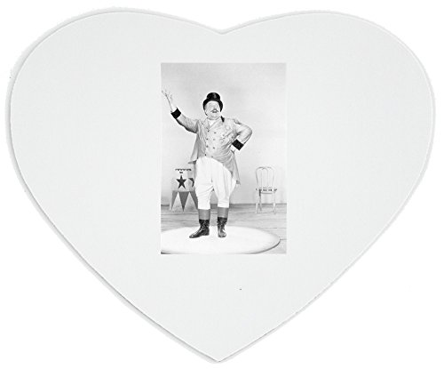 Heartshaped Mousepad with The ringmaster also called a ringleader is the most visible performer in the modern (Ringmaster Zubehör)