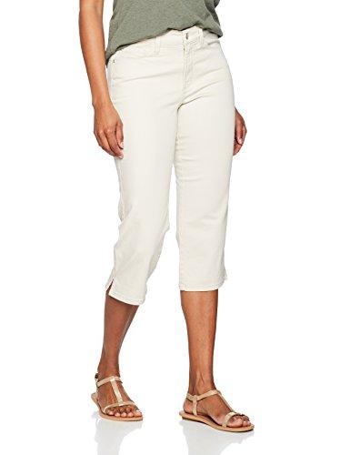 NYDJ Ariel, Jeans Slim Femme, Blanc Beige (Clay)