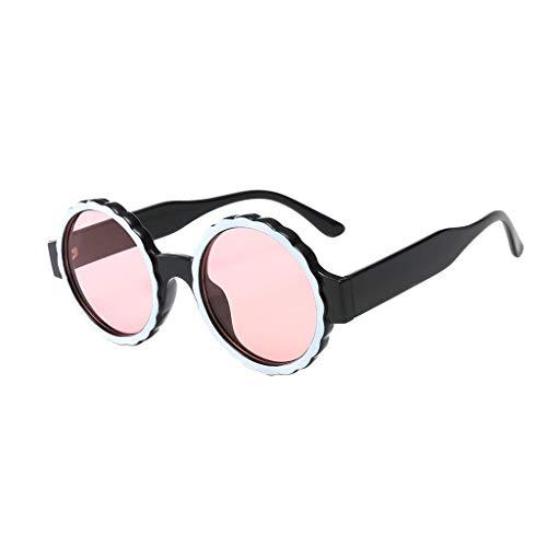 HEETEY Mode Sonnebrille Gespiegelte Linse Sunglasse丨Vintage Unisex Brille丨Kohlefasertempel mit klassisch rechteckig polarisierten Metallrahmen Sonnenbrille丨100% UV 400 Schutz
