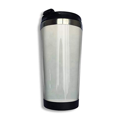 Stainless Steel Coffee Mugs Blue Travel Coffee Thermal Mug 10 Oz (400ml) Insulated Cup Perfect for Travel, Camping, Hiking, The Beach and Sports -