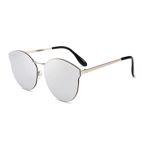 Occhiali da sole da donna uomo polarizzati - beautyjourney occhiali da sole donna rotondi vintage sunglasses cat eye occhiali finti occhiali da lettura occhiali ciclismo - occhiali da vista donna occh (f)