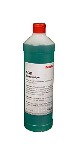 Bonalin Acid Essigreiniger 1000ml gegen Kalk, Wasserflecken und Seifenreste in Küche, Bad und WC.