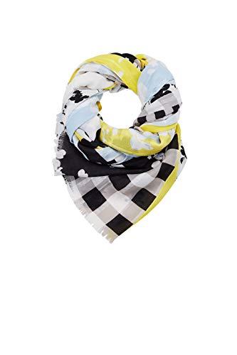 ESPRIT Accessoires Damen Schal 029EA1Q002 Gelb (Yellow 750) One Size (Herstellergröße: 1SIZE)