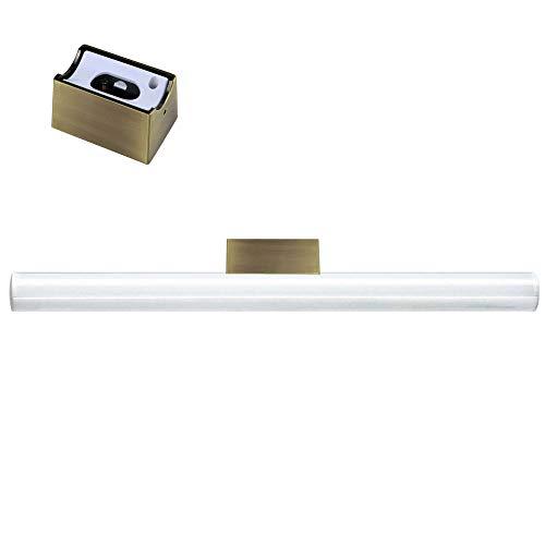 CLE Linestra Spiegel-/Wandleuchte Messing Matt inkl. LED Linienlampe 9W 700lm 500mm -