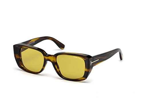Tom Ford Raphael FT0492 C52 41E (yellow/other / brown) Sonnenbrillen