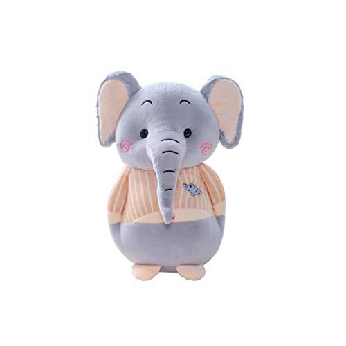 Shengshihuizhong Peluches, elefantes rellenos de felpa, muñecas perezosas para dormir, bebés, niños,...