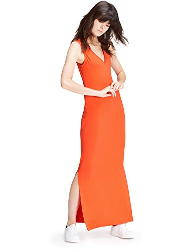 find. Robe Longue Femme, Rouge (Red Tomato), 40 (Taille Fabricant: Medium)