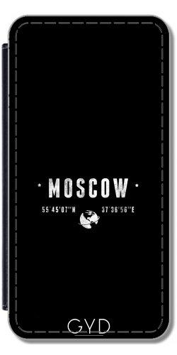 Leder Flip Case Tasche Hülle für Apple iPhone 5C - Moskau by les caprices de filles Lederoptik