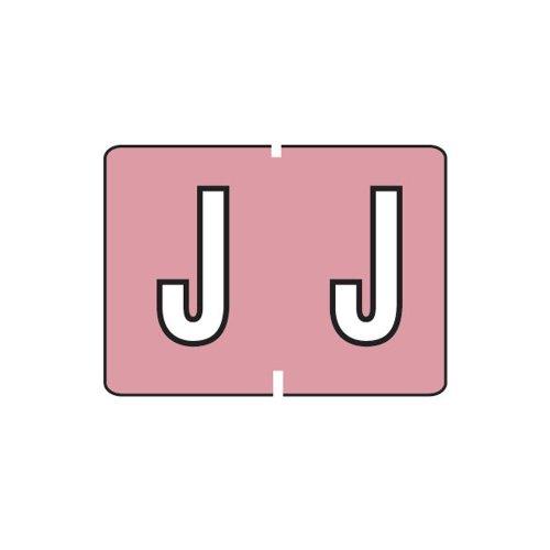 Smead A-Z color-coded etiquetas, J, lila, 252etiquetas por paquete (22030)