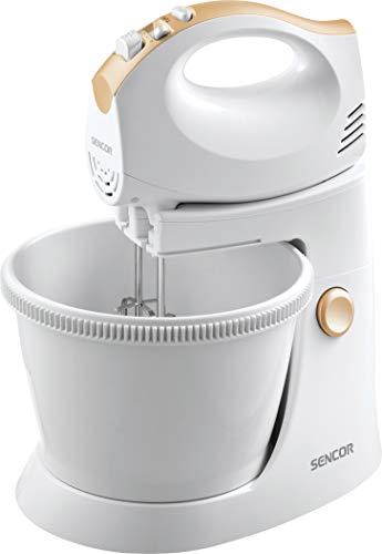 Sencor SHM 5330 Mixeur manuel avec bol rotatif - 300W - 5 vitesses - Bol pivotant 3 litres