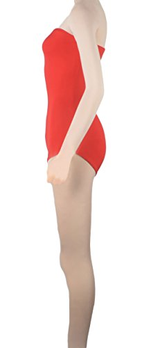 Howriis Damen Body orange Orange Small Hautfarben