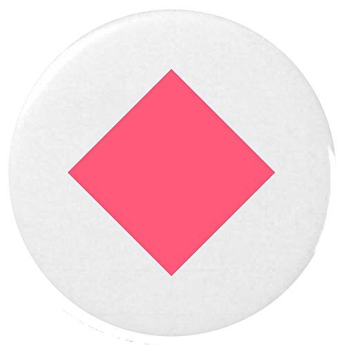 Diamond Anzug Emoji 25 mm Anstecker / Diamond Suit Emoji 25mm Button Badge