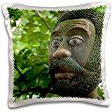 Voodoo - Benin, Ouidah. Sacred Forest, voodoo 16x16 inch Pillow Case