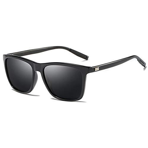 Sonnenbrille Polarisierte Sonnenbrillen Männer Und Frauen Sommer Polarisierte Sonnenbrille Oversized Quadrat Sonne Brille Brillen Alle Schwarz