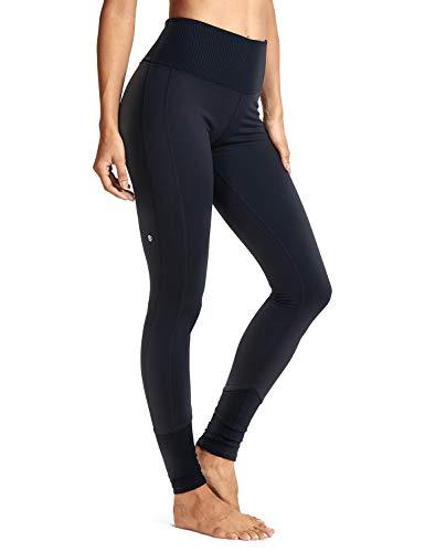 Galleria fotografica CRZ YOGA Donna Leggings Sportivi Vita Alta Calzamaglie Eleganti Pantaloni Yoga Fitness -25''/27''/28''/28.75''