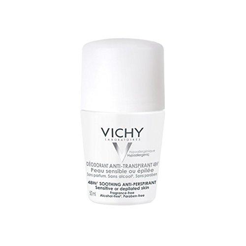 Vichy deodorante roll on anti-traspirante 48 ore per pelli sensibili 50ml