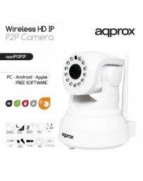 Camara IP WiFi HD MOTORIZADA Approx APPIP02P2P