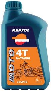 REPSOL OLIO MOTO V-TWIN 20W50 CONF. 1 LT - 20w50 Olio