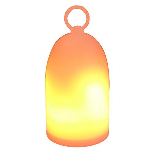 Eterbiz LED Flammen Nachtlicht für Kinder, wiederaufladbare flackernde Nachttischlampe, Dual-Modi-dekorative Flamme & Nachtlicht -