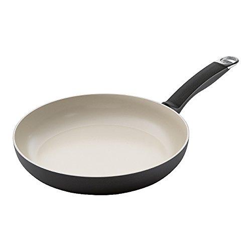 KUHN RIKON 31304 Pfanne Ceramic Induction Bratpfanne 28 cm keramische Beschichtung induktionsgeeignet bis auf 450 Grad erhitzbar ideal für Fleischgerichte