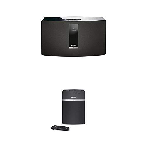 Bose SoundTouch 30 Series III kabelloses Music System (geeignet für Alexa) schwarz + SoundTouch 10 kabelloses Music System (geeignet für Alexa) schwarz