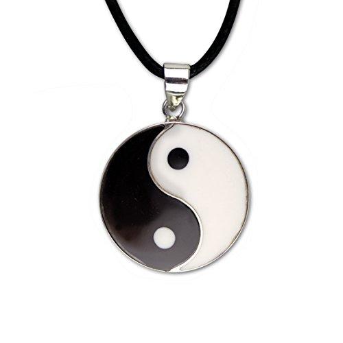 Anhänger Yin Yang Silber 925er Silber Schmuck
