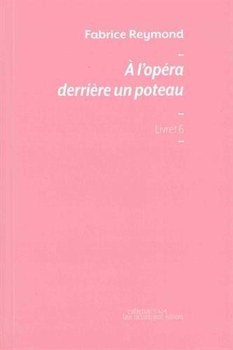 A l'opéra derrière un poteau par Fabrice Reymond
