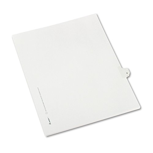Avery 82207Trennblatt–Trennblätter (weiß, Papier, Letter) (Avery Teiler Weiß)