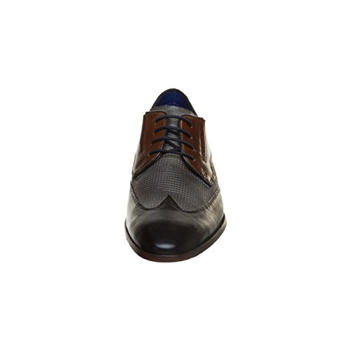Bugatti Herren 311419021111 Derbys Dark Blue/ Grey