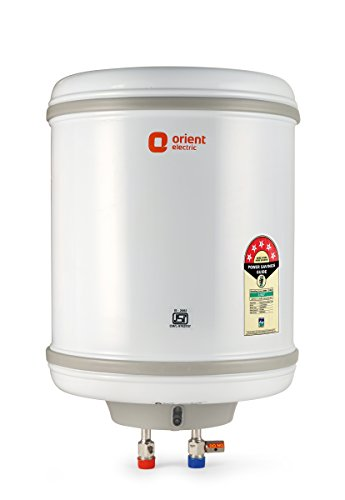 Orient Electric Aquaspring WS2502M 25 litres- 2000 Watts Storage Water Heater (White)