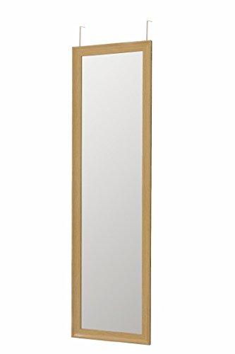 Galileo Casa Türspiegel braun mit 2 Haken, 36 x 135 x 2 cm, Maße: L 37 x 2 x h. 127 cm (Spiegel 36 36 X)